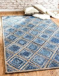 blue jute rug main image of rug blue jute rug 8x10