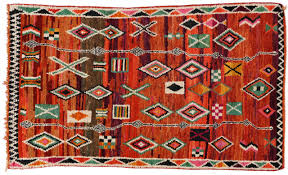 images of mid century modern berber moroccan rug with tribal design 2 wkmrvrs