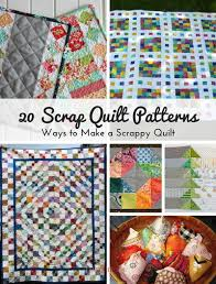 Scrap Quilt Patterns Fascinating 48 Scrap Quilt Patterns Ways To Make A Scrappy Quilt FaveQuilts