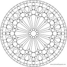 Free Mandala Coloring Pages Free Mandalas
