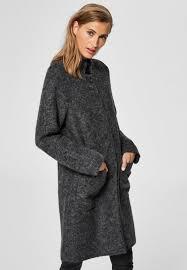 classic coat medium grey melange