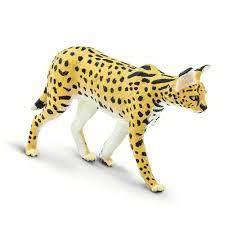 Safari ltd Serval Gelb anfugen und sonderangebote, Trekkinn