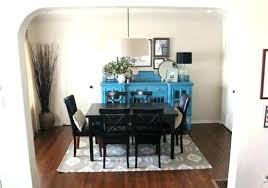 area rug under kitchen table dining room eye catching rugs marvelous large and jute