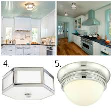 new flush mount kitchen lights intended for lighting all round solutions kitchens jeannerapone com