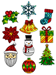 Christmas Stained Glass Patterns Best Inspiration Design
