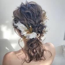 私が主役やってみたい今ドキ花嫁髪型アレンジカタログ Trillトリル