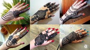 The Best Mehndi Design Top 10 Mehndi Designs For Hands Tutorial All Time By Views