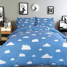 cloud bedding set blue sky white cloud bedding set twin queen king size duvet cover bed