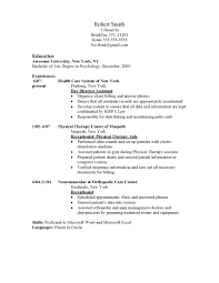 Useful Resume Skills Health Care Worker For Your Medical Secretary