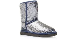 Ugg Classic Short Sparkle Boots in Blue for Men Lyst .