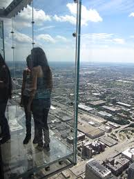 file glass balconies looking west from willis tower skydeck chicago illinois