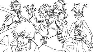 In Fairy Tail Coloring Pages Coloring Pages For Children
