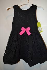 Infant Toddler Girls Genuine Kids Osh Kosh Dress Size 18m Ebony Black Dress Size 18 Months