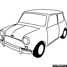 Small Picture 1963 Austin Mini Cooper S Coloring Page