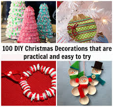 Diy Christmas Decorations 100 Diy Christmas Decorations That Are Practical And Easy To Try