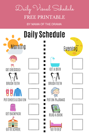 Printable routine cards & routine sets give kids visual cues about what comes next and the for moms, having a daily routine means that you are innately in touch with the rhythm for the day and when the kids are playing independently , napping or are at preschool, i have small breaks where i. Daily Routine Charts For Kids 7 Fun Visual Schedules Habitat For Mom