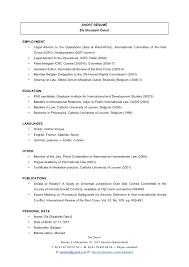 Short Resume Interesting Short RéSumé Els Debuf May 28