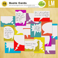 Quote Cards Simple The Lilypad Journal Cards Quote Cards