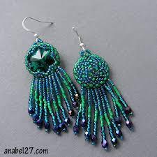365 earrings - <b>34</b> / 365 - изумрудные <b>серьги</b> с <b>кристаллами</b> ...