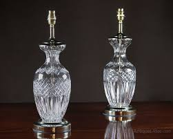 antique glass table lamps table designs
