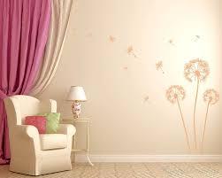 dandelion vinyl art decals modern wall art