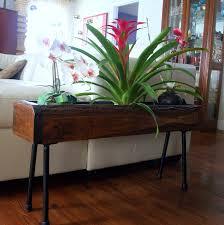 urban rustic furniture. URBAN RUSTIC INDUSTRIAL Planter Box Table Unfinished Natural Edge Custom Designed Handmade Furniture In Reclaimed Wood \u0026 Metal Legs. $199.00, Via Etsy. Urban Rustic C