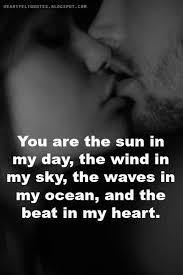 Beautiful Love Quotes Fascinating You Are The Beat Of My Heart Love Quotes Pinte