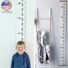 Baby Height Wall Chart Details About Baby Height Growth Chart Hanging Rulers Kids Room Wall Wood Frame Home Decor New