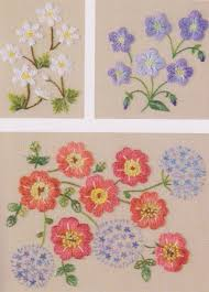 Pillow Case Hand Embroidery Designs Set Of Embroidery Pdf E Pattern Hand Stitch Garden Flower