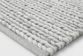 white braided rug amazing ivory chunky wool 5 x7 project 62 target pertaining to