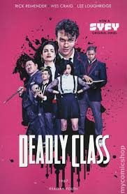 Deadly Class comic books issue 1