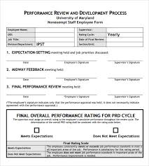 employee appraisal software free download employee review template pdf