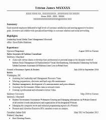 49 Marketing, Communications And Pr Resume Examples In District Of ...