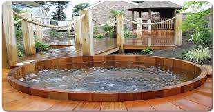 cool hot tub surrounds