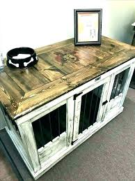 Dog Crate Furniture Diy Dog Crate Table Dog Crate Furniture Wooden