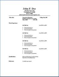basic resume outline sample are really great examples of resume and curriculum vitae for those who are looking for job simple resumes samples