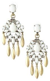 stella and dot chandelier earrings dot and dot new in box chandelier earrings stella and dot