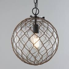 rope pendant lights