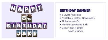 fortnite birthday banner