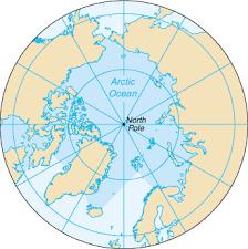 Risultati immagini per ARCTIC MAP