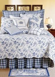 blue toile quilt. Modren Blue Devon Lake Quilt  By Williamsburg Cu0026F Green Toile Quilts  Draperies Comforter Sets Bedspreads Duvets And Daybeds Pa In Blue K