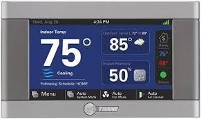 trane 824 thermostat. trane xl824 nexia control 824 thermostat l