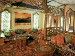 middle eastern living room