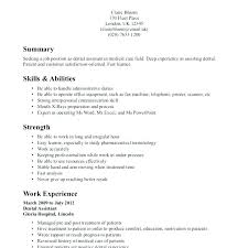 40 Dental Assistant Resumes Skills Payroll Slip Amazing Dental Assistant Resume Skills