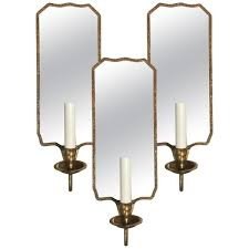 Vaughan Designs Giltwood Candlestick Wall Sconces