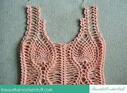 Free Patterns Crochet Stunning Pineapple Crochet Top Free Pattern Beautiful Crochet Stuff