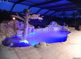 backyard pool with slides. Water Slides Backyard Pool With
