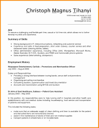 Resume Sample For Medical Assistant With No Experience Inspirationa