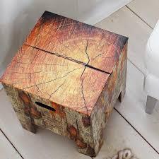 cardboard chair treetrunk 1 left card board furniture
