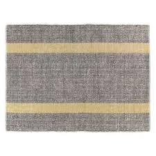 brecan extra large grey wool rug 200 x 300cm